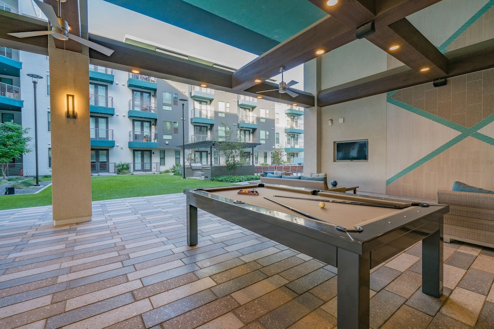 Billiards, Luxe Tempe Apartments by WanderJaunt