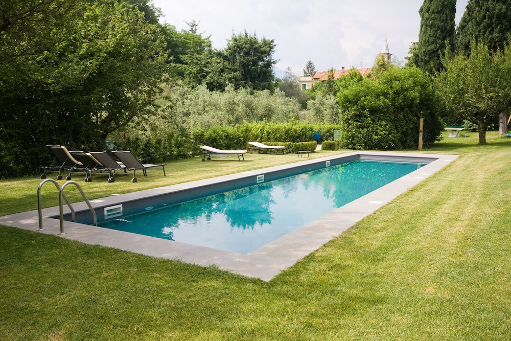 Outdoor Pool, Castello di Vezio in the Village