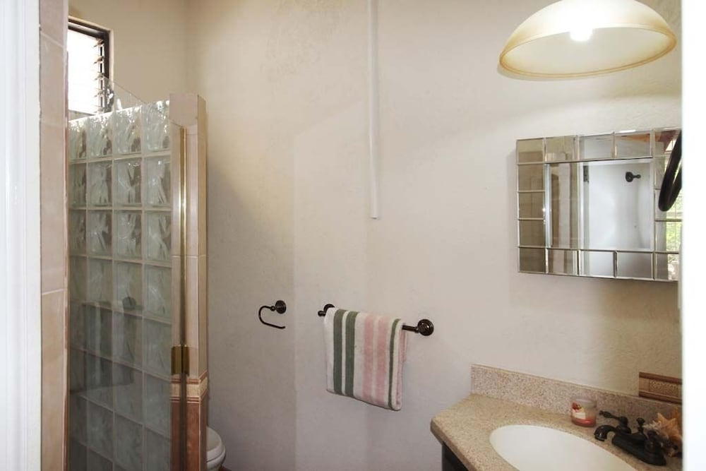Bathroom, Enjoy A Peaceful Vacation Steps Away From a Pristine Beach On The West Coast