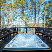 South Lake Lanier Clubhouse Style Home Book a Staycation Now!