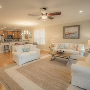 Best Deal IN Kure Beach!!! Fully Renovated Luxury Home Steps TO THE Ocean & Pier