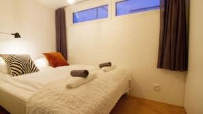 1 makuuhuone, työpöytä, silitysrauta/-lauta, ilmainen Wi-Fi