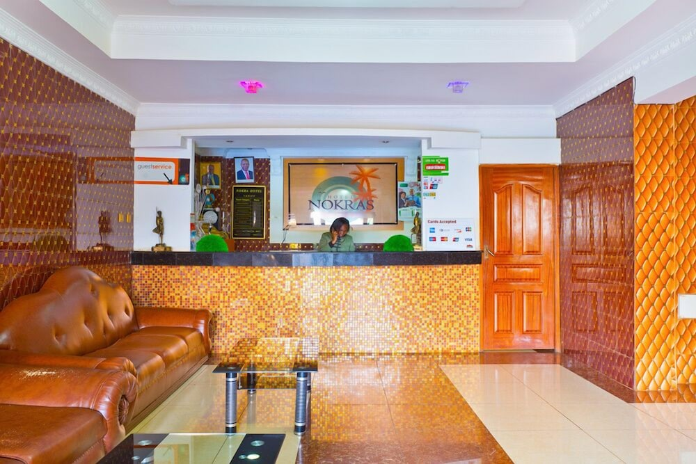 Lobby, Nokras Riverine Hotel & Spa