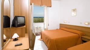 Una cassaforte in camera, una scrivania, Wi-Fi gratuito