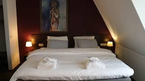 1 slaapkamer, luxe beddengoed, geluiddichte muren
