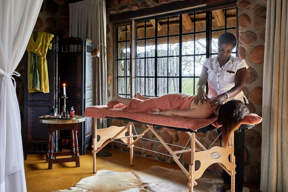 Massage, Geiger's Camp