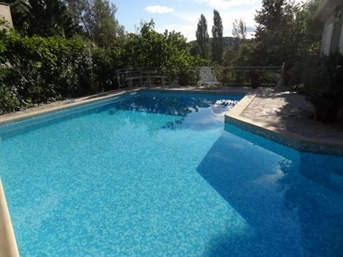 Villa With 3 Bedrooms in Saint-clément-de-rivière, With Wonderful Mountain View, Private Pool, Enclosed Garden - 18 km From the Beach