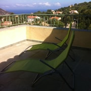 House With 3 Bedrooms in Aregno, With Wonderful sea View and Enclosed Garden - 6 km From the Beach