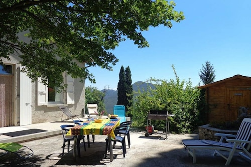 House With 3 Bedrooms in Plan-de-baix, With Wonderful Mountain View, Furnished Garden and Wifi