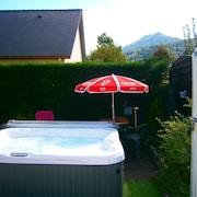 House With one Bedroom in Lourdes, With Wonderful Mountain View, Enclosed Garden and Wifi