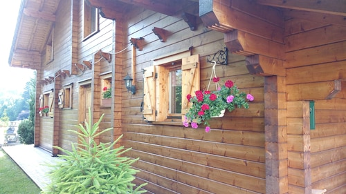 Chalet La Bresse Vosges, new Chalet, Mountain Atmosphere, Spacious and Quiet