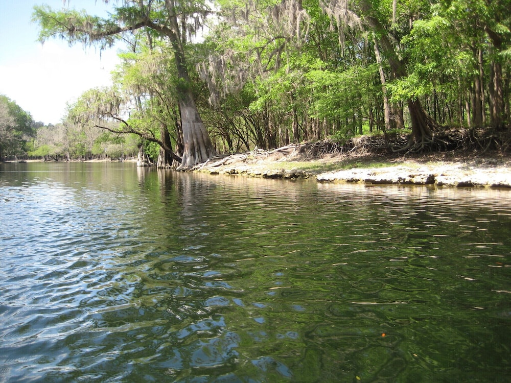 Beach, 3 Bed / 3 Bath Home on Santa Fe River and Just Upriver From Ichetucknee Springs