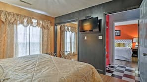2 bedrooms, premium bedding, individually decorated