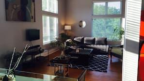 1 dormitorio, escritorio, tabla de planchar con plancha y wifi gratis