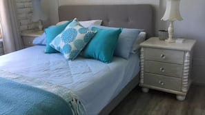4 bedrooms, in-room safe, iron/ironing board, free cribs/infant beds