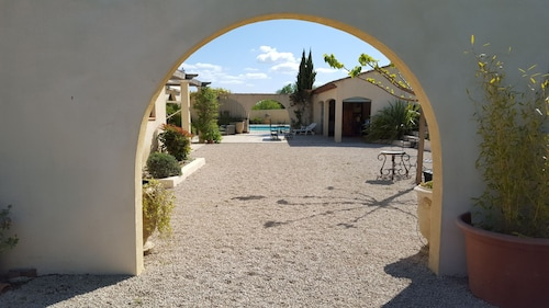 Lamanderie in Provence; House Type Hacienda Between Alpilles and Luberon