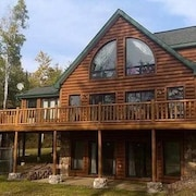Upscale Lake Home on Beautiful 915 Acre Solberg Lake, Phillips WI