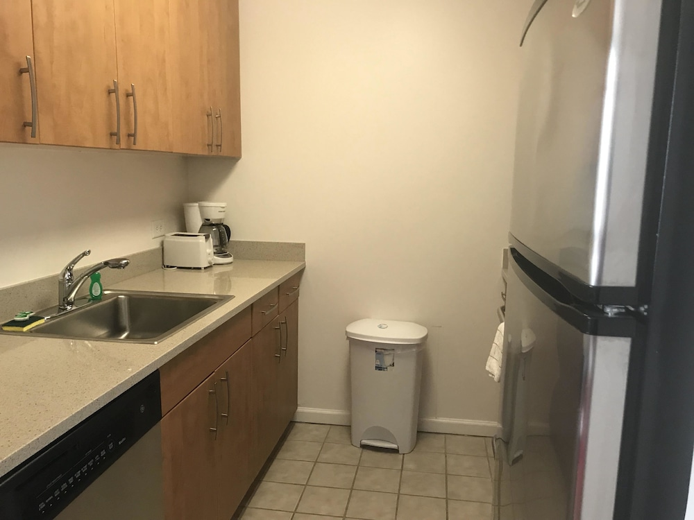 Private Kitchenette, Downtown Luxury Suites