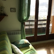 Apartment With 2 Bedrooms in Barcelonnette, With Wonderful Mountain View and Furnished Terrace - 10 km From the Slopes