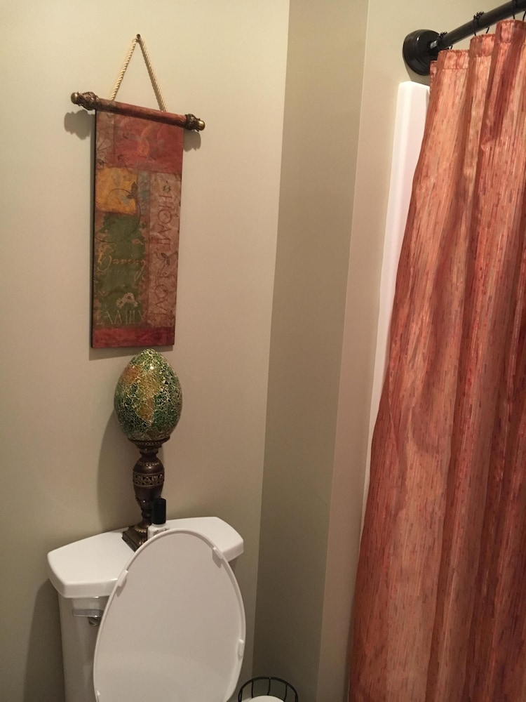 Bathroom, 1of2 Bedroom Suites at Lake Barkley Old Kuttawa, KY - w/ Golf Cart