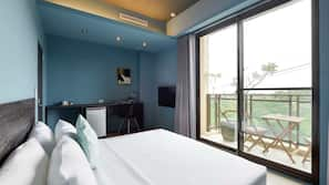1 多间卧室、办公桌、遮光窗帘、免费 WiFi