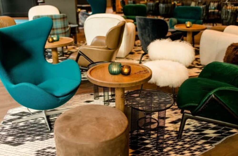Lobby, Motel One Glasgow