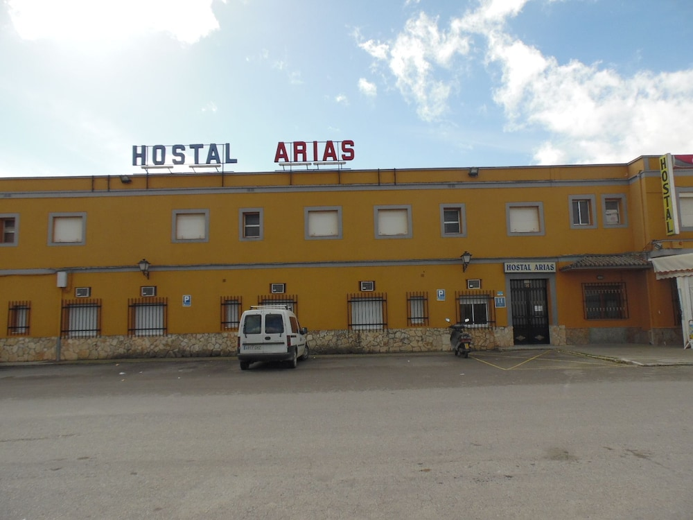 Front of Property, Hostal Arias