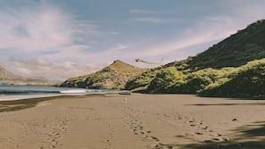 Privatstrand, Sporttauchen, Schnorcheln, Surfen/Boogieboarden