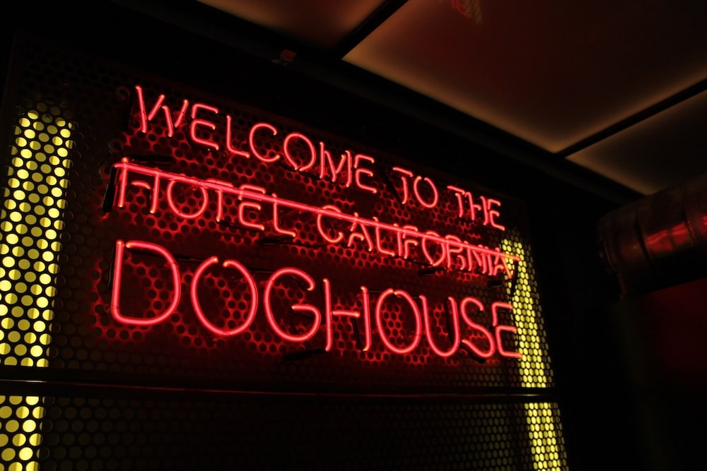 Building design, DogHouse Hotel and Brewery