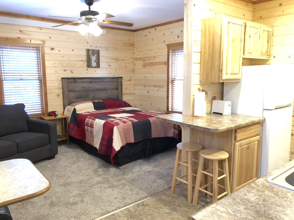 Living Area, Rockerville Lodge & Cabins