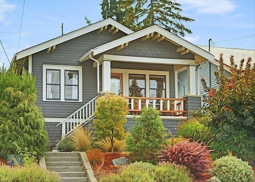 Great Place to stay Classic Craftsman - Three Bedroom Home with Fireplace near Seattle