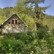 Dixie's River Retreat - Three Bedroom Cabin with River View