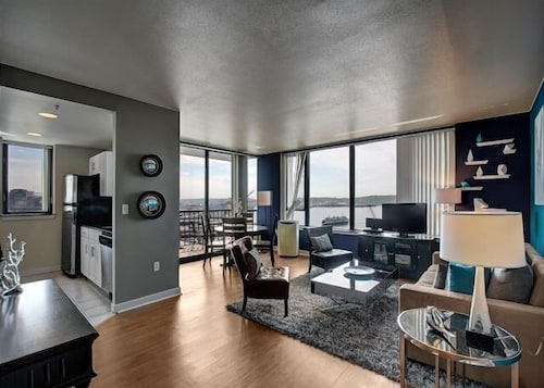 Great Place to stay Harbor Steps Seascape Suite - Two Bedroom Apartment with Balcony near Seattle