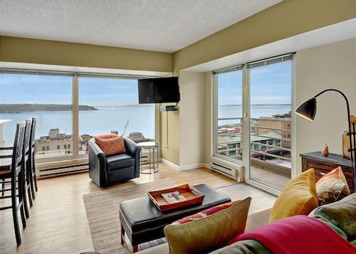 Great Place to stay Newmark Tower Soundview Suite - Two Bedroom Apartment with Balcony near Seattle