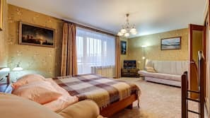 1 Schlafzimmer, Bügeleisen/Bügelbrett, kostenloses WLAN