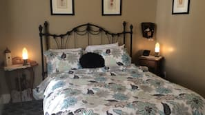 Down comforters, free WiFi, alarm clocks