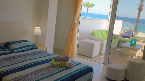 Superbe Front de mer de Luxe Appartement Fig Tree Bay Protaras Chypre