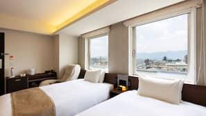 ตู้นิรภัยในห้องพัก, ผ้าม่านกันแสง, เตารีด/โต๊ะรีดผ้า, Wi-Fi ฟรี
