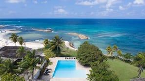 Private beach nearby, white sand, beach shuttle, beach cabanas