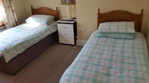 1 bedroom, blackout drapes, iron/ironing board, free cribs/infant beds