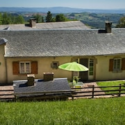 Mansion With 2 Bedrooms in Pousthomy, With Wonderful Mountain View, Furnished Terrace and Wifi