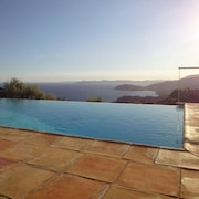 Villa With 4 Bedrooms in Rayol-canadel-sur-mer, With Wonderful sea View, Private Pool, Enclosed Garden - 2 km From the Beach