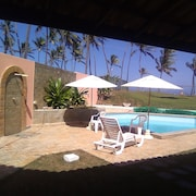 Villa With 5 Bedrooms in Lauro de Freitas, With Wonderful sea View, Private Pool, Furnished Terrace