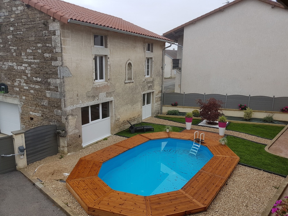 Beautiful House With Swimming Pool AND SPA IN Quiet Village ...