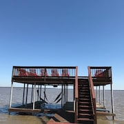 10 Guest Special 6/9-13 $225/nt!! 500 Lakefront! 2 Firepits! Boat Available!!