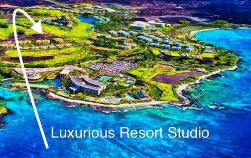Fantastic Studio 20 AC- Pool-tennis - Waikoloa Beach Resort ...