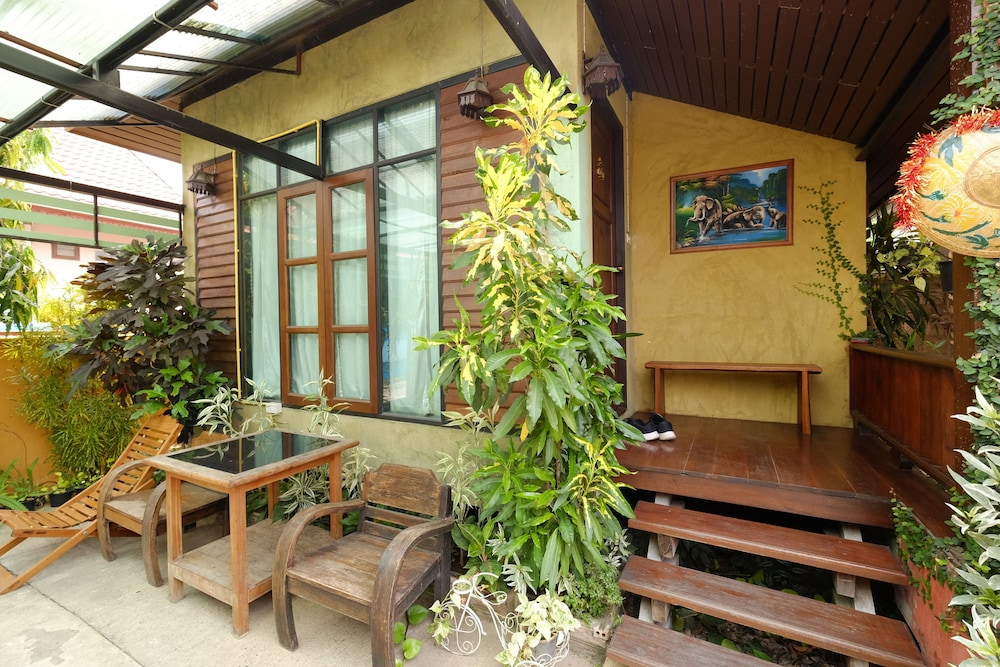 Terrace/Patio, Huen Kham Kong Guesthouse
