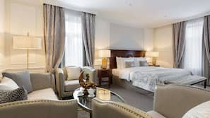 1 Schlafzimmer, hochwertige Bettwaren, Minibar, Zimmersafe