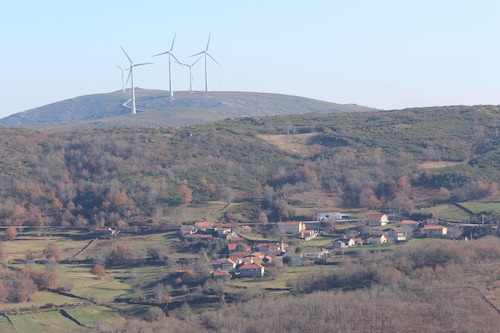 House With 2 Bedrooms in Montalegre, With Wonderful Mountain View and Furnished Garden