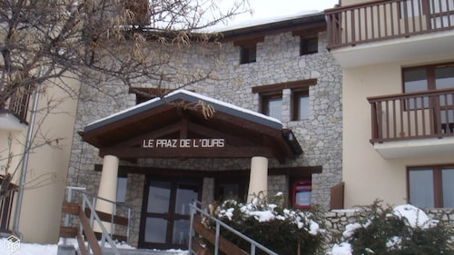 Studio in Vallandry, With Wonderful Mountain View and Balcony - 10 km From the Slopes